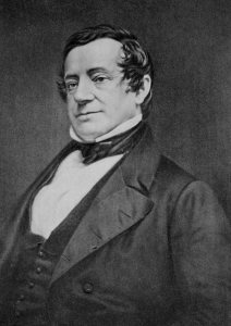"Washington Irving. ""Ornamentally styled hair is but one of my many skills."" He never said this, but he could have."
