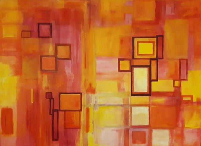 abstractorange
